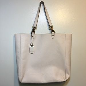 Lauren Ralph Lauren Blush Pink Vegan Leather tote